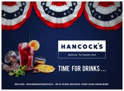 Hancocks Promotional Material graphic Design