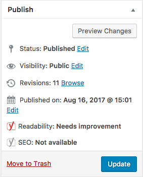 managing wordpress